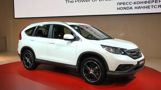 Новое поколение Honda CR-V представили в Москве