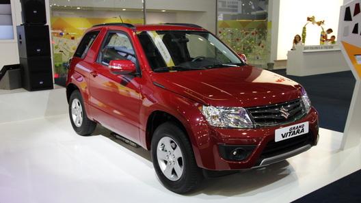 Suzuki показал на автосалоне в Москве обновленную Grand Vitara