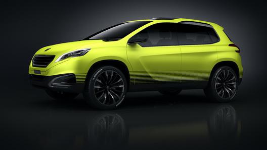 Концептуальный кроссовер Peugeot 2008 появится в Париже