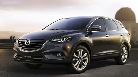 Mazda обновила свой самый большой кроссовер CX-9
