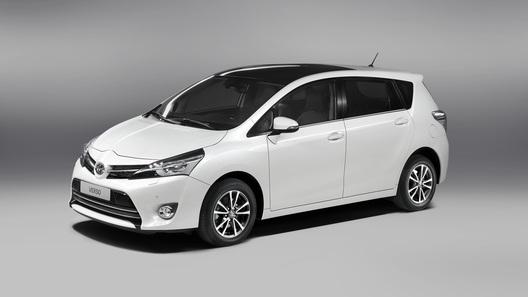 Toyota Verso пережила серьезный рестайлинг