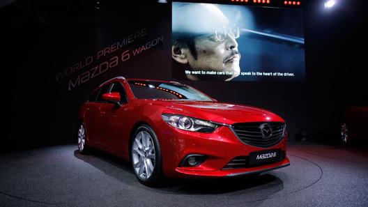 Мировая премьера универсала Mazda6 состоялась в Париже