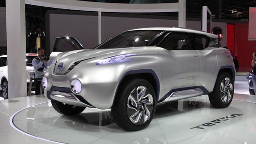 Nissan представляет водородный внедорожник TeRRa