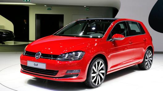 Новое поколение VW Golf появится в России в марте