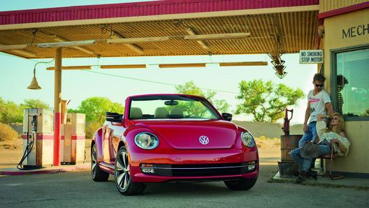 Volkswagen рассекретил кабриолет Beetle