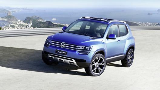 Маленький джип Volkswagen поступит в продажу через три года