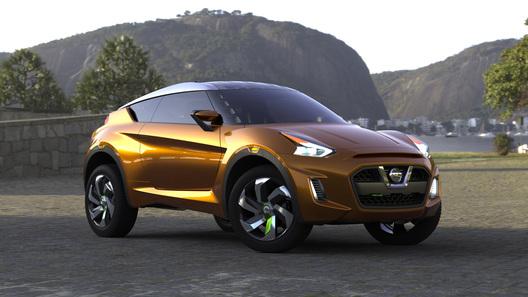 Nissan показал в Бразилии
