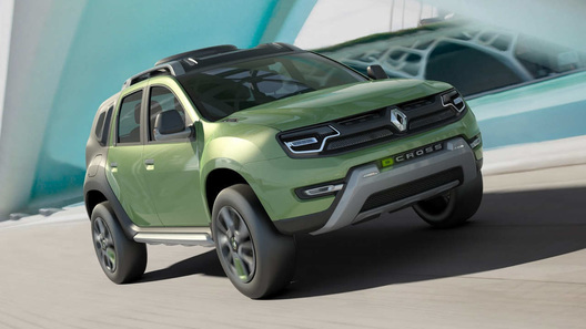 Renault Duster получил футуристичный облик