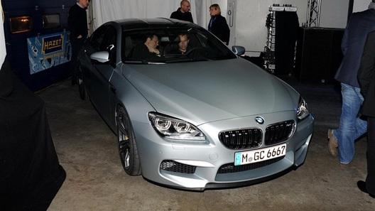 BMW M6 Gran Coupe показали избранным клиентам
