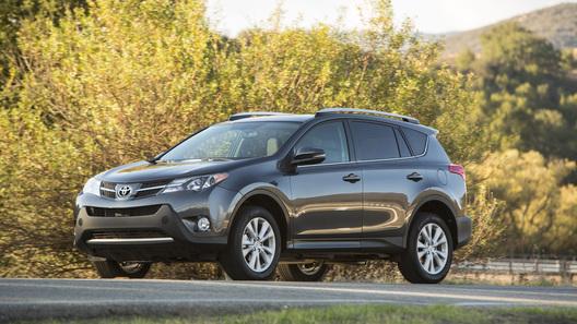 Новое поколение Toyota RAV4 обойдется в 998 тысяч рублей