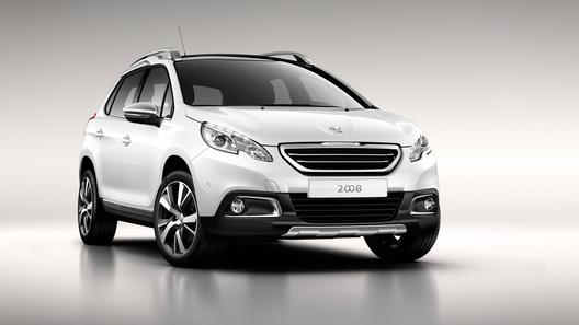 Peugeot рассекретил новый кроссовер 2008