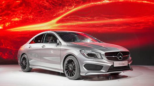 Mercedes-Benz представил новейший CLA-класс
