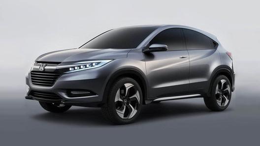 Honda показала первые фото нового кроссовера на базе Fit