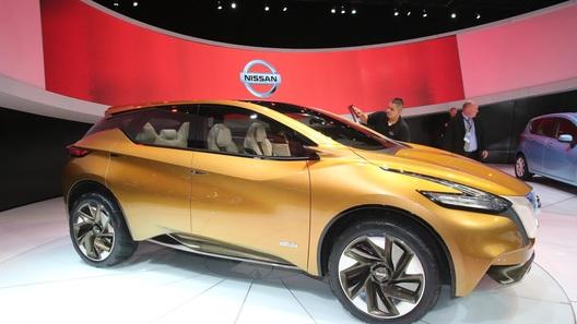 Nissan представит новый Murano уже в апреле