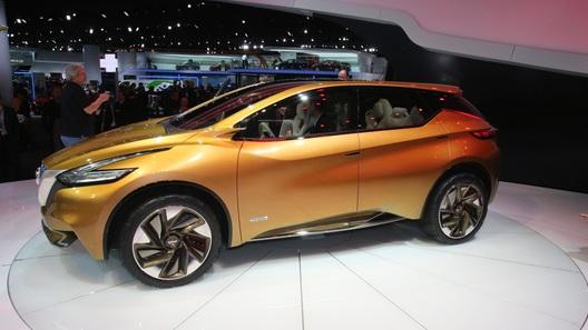 Nissan показал в Детройте будущее сегмента кроссоверов