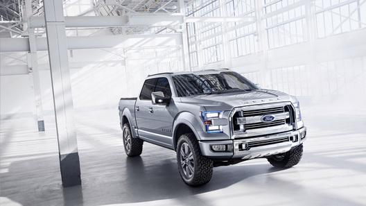 Алюминиевый пикап Ford F-150 покажут в Детройте