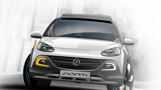 Opel покажет в Женеве кроссовер на базе Adam