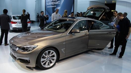 BMW продемонстрировала в Женеве машину 3 серии в кузове хэтчбек