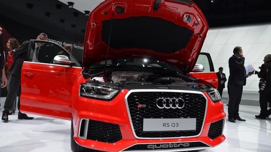 Audi RS Q3 дебютировал в Женеве