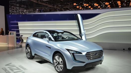 Концепт Subaru устроил в Женеве дизайнерскую революцию