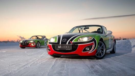 Mazda Ice Race: глотаем снег на ледяном озере