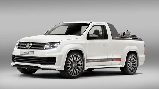 VW Amarok переквалифицировался в