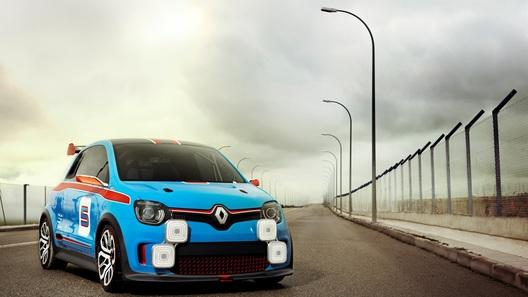 Renault представила новый гоночный концепт-кар Twin'Run