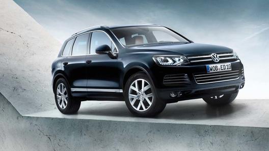 Volkswagen добавил кроссоверу Touareg эксклюзивности