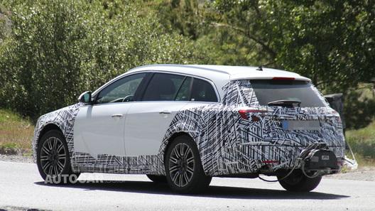 Opel выставит новый универсал Insignia против Audi A6 Allroad