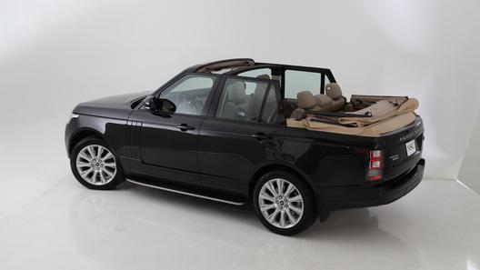 Тюнеры трансформировали Range Rover в кабриолет