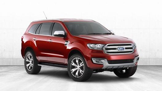 Концепт Ford Everest станет серийным