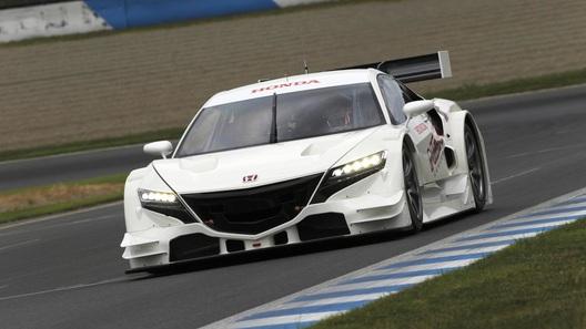 Honda представила гоночную версию спорткара NSX