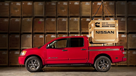 Пикап Nissan Titan впервые получит дизель V8