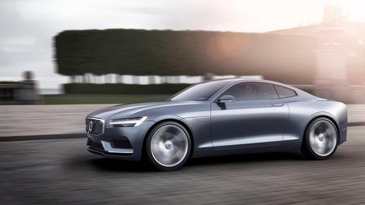 Volvo рассекретил новое купе Concept Coupe