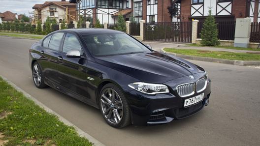 BMW объявила цены на машины обновленной 5 серии