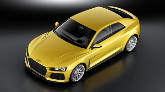 700-сильный концепт-кар Audi