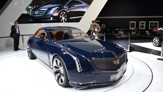 Концепт Cadillac Elmiraj превратят в седан и выпустят в 2016 году