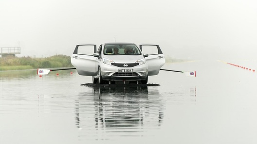 В модельном ряду Nissan появилось гребное судно