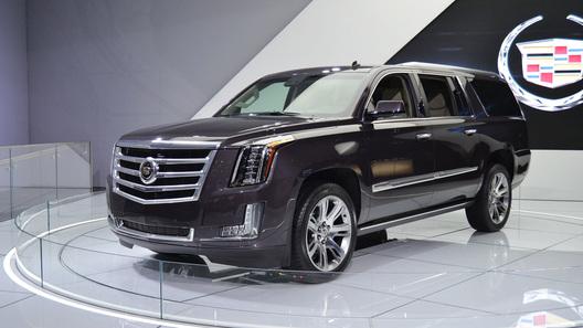 Новый Cadillac Escalade стал восьмиместным