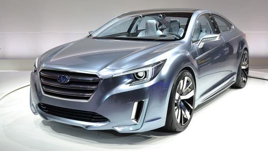 Каким станет новое поколение Subaru Legacy?