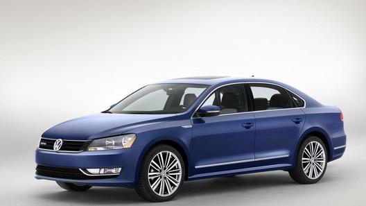 Volkswagen привезет в Детройт сверхэкономичный Passat