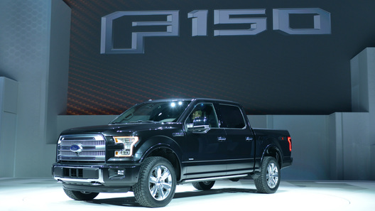 Ford рассекретил новое поколение пикапа F-150