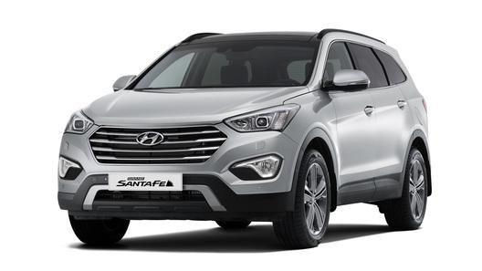 Большой кроссовер Hyundai Grand Santa Fe оценили в 2 млн рублей