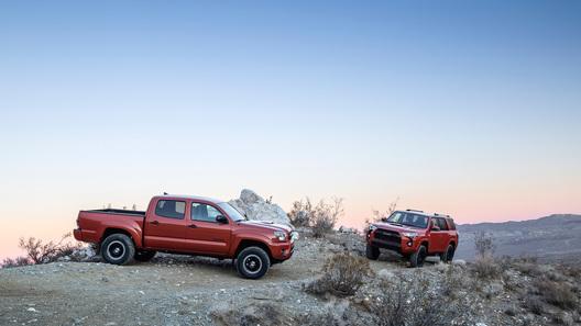 Toyota и TRD понастроили экстремальных внедорожников