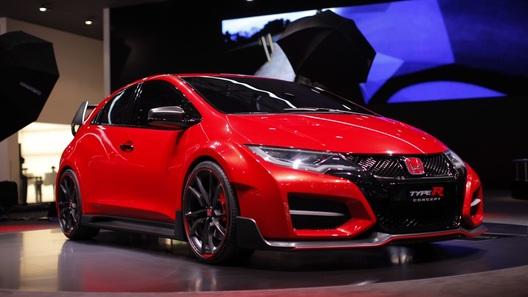 Honda Civic Type R замахнется на рекорды Нюрбургринга