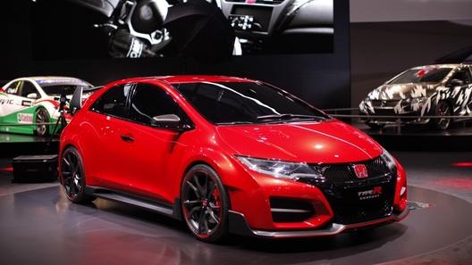 Серийный Civic Type R начнут продавать в 2015 году