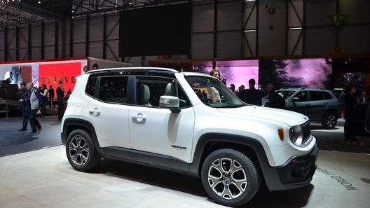 Jeep представил в Женеве модель с