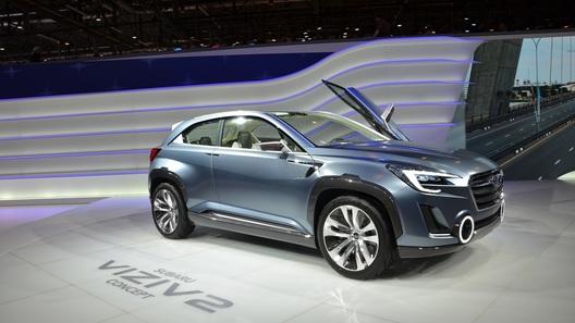 Subaru привез в Женеву