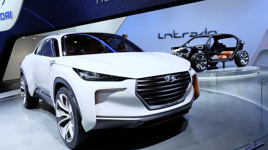 Hyundai намекнула в Женеве на новый компактный кроссовер