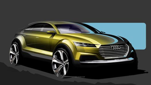 Audi покажет кроссовер Q4 на автосалоне в Пекине